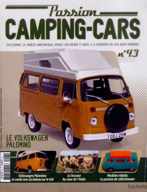 The VW Palomino featuring on the front page of a magazine