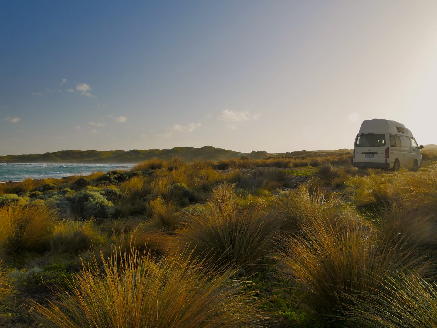 Wild camping on the wild and remote west coast of Tasmania