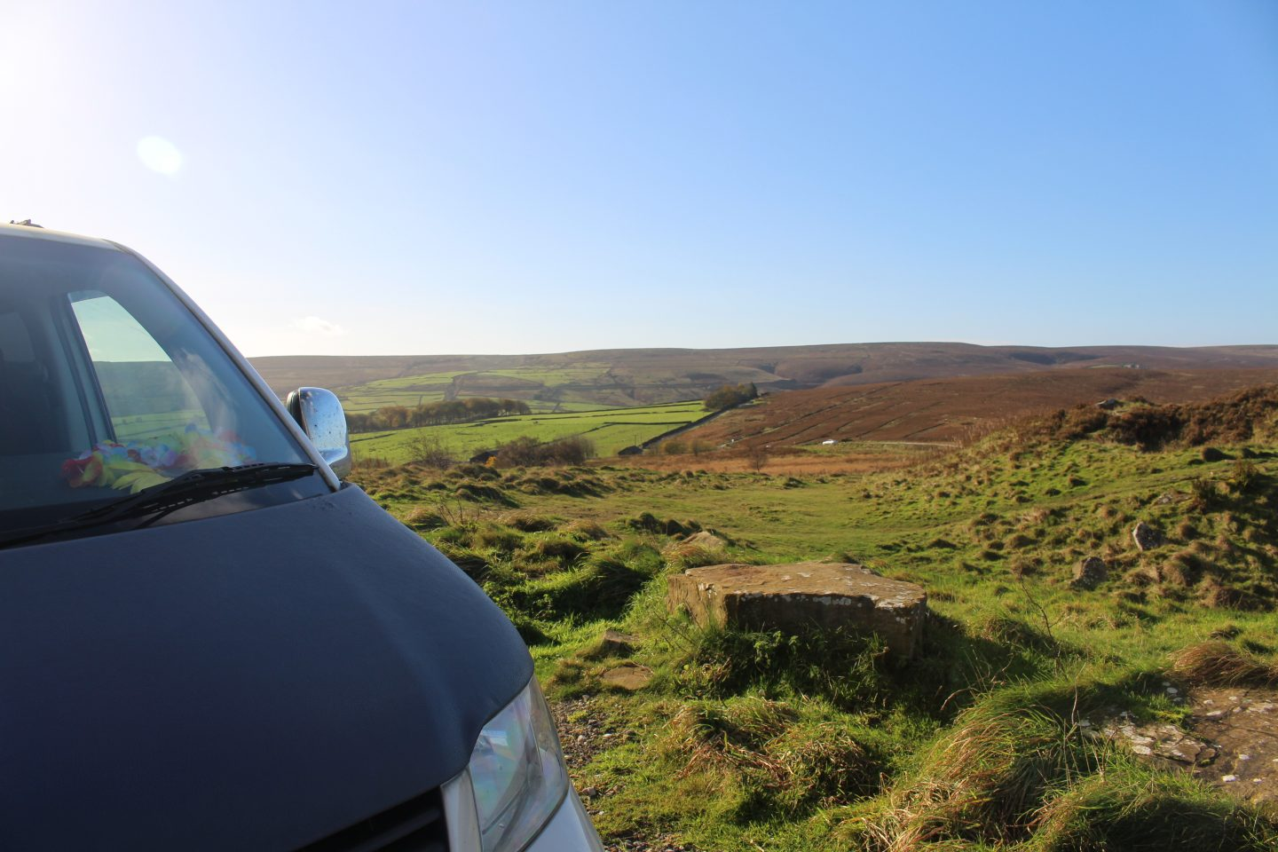 Camping at Penistone Hill Country Park Car Park