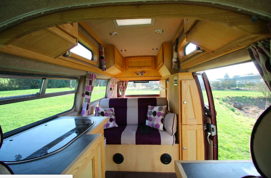 VW Palomino bed and seat
