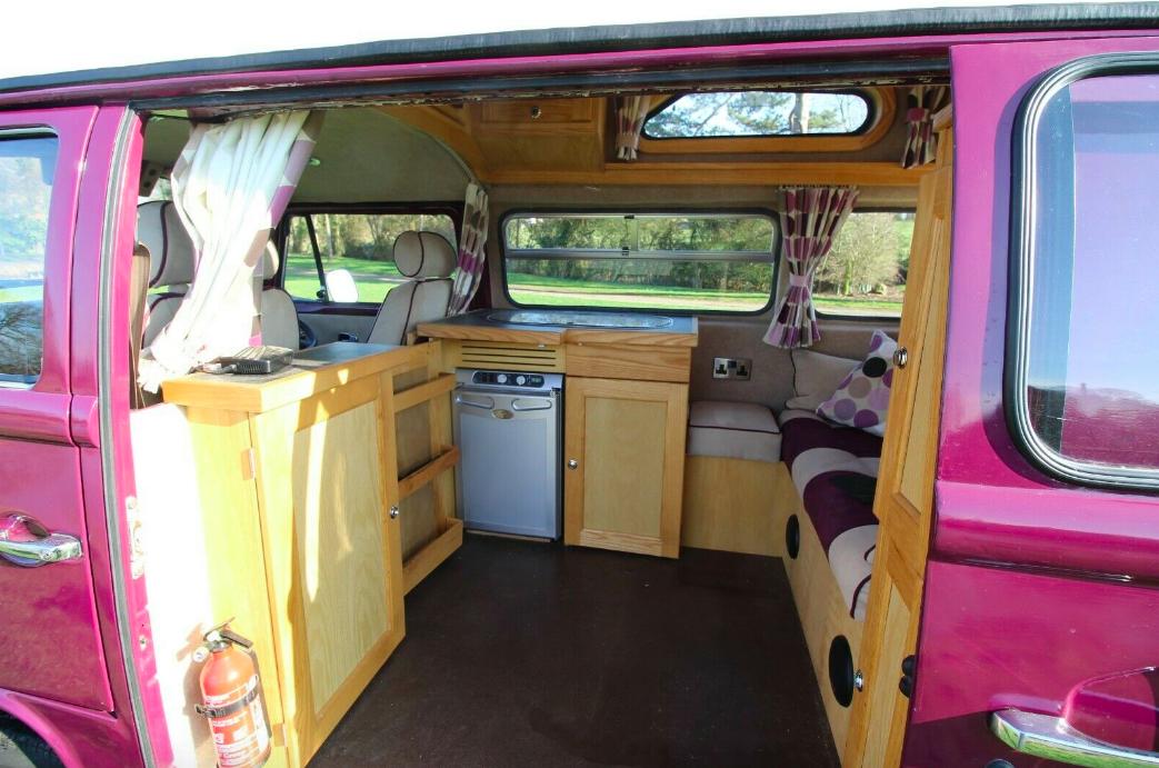 VW Palomino Camper Kitchen