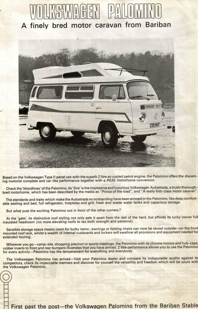 Volkswagen Palomino Advert