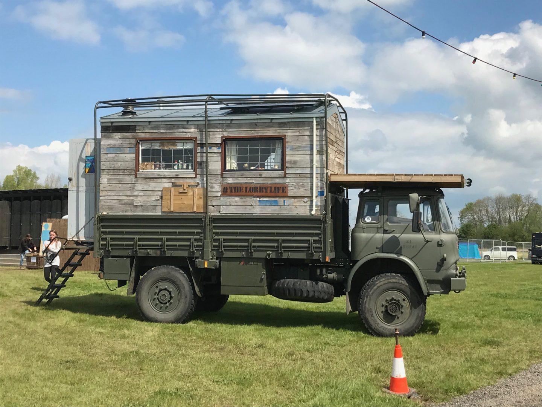 Beast of a camper van