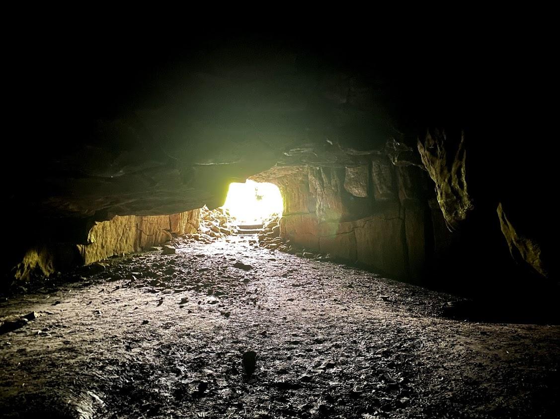Inside Yordas Cave