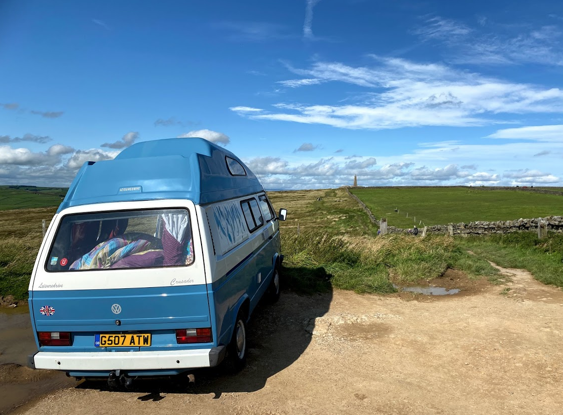 Camping at the Hitching Stone